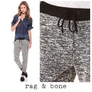 Rag & Bone Black Grey Blend Jogger Sweat Pant